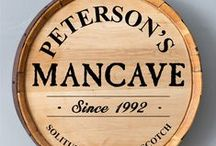 Mission: Man Cave / This board is dedicated to all of the men who've ever dared to dream of creating the ultimate man cave. These signs, décor ideas and design concepts will help get you started on the right foot! / by The Man Registry