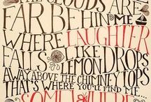 Fonts we love