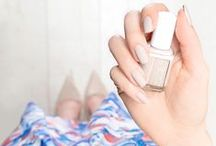 pretty in pastel / Paint your nails pretty with essie's colorful pastel polishes.