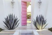 palette | pink doors / forget rose-colored glasses–we'll take these rose-colored gates and doorways / by Ethica