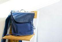Michaux Club Lookbook / All-weather handbags, rucksacks, backpacks, saddle bags and bicycle handlebar tape.  British made.