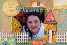 DT - Susan K Weckesser / Projects using Susan K. Weckesser papers and stamps