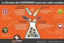 INFOGRAFÍAS REDES SOCIALES / Un espacio para descubrir contenido relevante de Redes Sociales  / by CREEMOS CREAMOS NRG