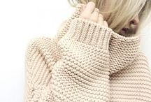 style | knit factor / cozy up to oversized sweaters and chunky knits that will shut out the cold