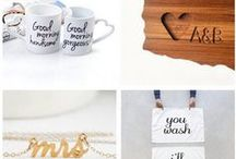 Engagement Parties + Gifts / Give your engagement the celebration it deserves with these party ideas + engagement gits