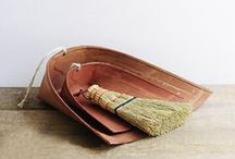 things for cleaning. / beautiful & useful supplies for tidying up.