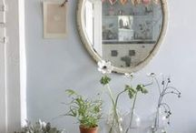 ideas for a closet. / - inspiration for a project sponsored by benjamin moore's natura paint -