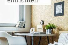 Kleine Räume & Wohnungen / Jeder Großstädter kennt das Problem: Wohnraum ist teuer und die Wohnung ist nur halb so groß, wie man sie gerne hätte. Ideen, wie du deine kleine Wohnung trotzdem charmant, klug und vor allem platzsparend einrichten kannst, sammeln wir hier für dich!
