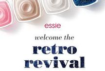 retro revival / In honor of 35 years, show off your retro sophistication with essie's six iconic limited edition retro shades – all promise a sparkling night of glitz and glamour.