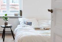 sleeping spaces. / bedrooms.