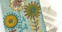 Felt & Embroidery / Felt & Embroidery  inspiration needle books & pin cushions