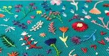 Embroidery / Stitches, tutorials, ideas, inspiration