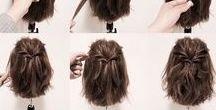 Coiffures / des astuces coiffures pour cheveux court ou long