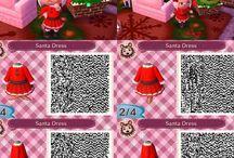 Animal crossing qr Christmas