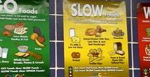 GO, SLOW, WHOA /  CATCH uses a stoplight model to break foods out into three groups: GO, SLOW, and WHOA foods. The goal is to eat more GO foods than SLOW foods, and to eat WHOA foods only in very small amounts.