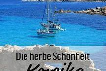 Korsika - Ein Reisebericht / Wer das Mittelmeer mag, einen reinen Strandurlaub aber öde findet, ist auf Korsika genau richtig. Es gibt neben herrlichen Stränden sehr viel zu sehen, allerdings braucht man dafür zwingend ein Auto. Das ist die Eintrittskarte für viele wunderschöne, teils skurrile und eigenwillige Ansichten, die diese Insel zwischen Bergen, Meer, Dörfchen und Flüssen zu bieten hat. Route und Reisebericht komplett auf www.mythirdblog.de/reisebericht-korsika-2010