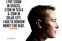 Elon Musk / Great quotes of Elon Musk. Inspiration for future