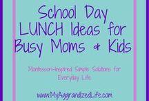 Healthy Lunches for Kids / Healthy lunches for kids, lunches for picky eaters, toddler lunches, preschool lunches, school day lunches, bento box, lunch meal prep, fun lunch ideas