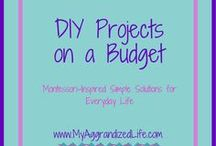 DIY Projects on a Budget / DIY projects, DIY on a budget, DIY kids projects, DIY art, DIY home décor, Budget DIY, DIY home, DIY kids, DIY bathroom, DIY kitchen