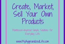 Create, Market, & Sell Your Own Products / Learn how to create your own ebooks, market your own products, create your own courses, market your course, sell your own products, make money online, make money from your own products