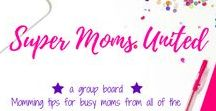 Super Moms United Group Board / This is a group board hosted by Grandi of My Aggrandized Life for busy moms to share all the best parenting tips and hacks to make life as a mom easier!  To join the board, please follow me and then send a message requesting to be added as a contributor.  All pins must be vertical and be related to parenting tips that make everyday life easier.