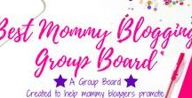 Best Mommy Blogging Group Board / This is a group board hosted by Grandi of My Aggrandized Life for mommy bloggers.  To join, please follow my profile and then Send a request via Pinterest asking me to add you.  I cannot add you if you are not following me.  Please pin anything related to parenting, mom tips, mommy blogger tips, how to blog as a mom, kids, parenting, WAHM, busy mom, homemaking.  Re-pin 1 pin from this board for every pin you add.  Vertical pins only please.  No limit! Collaborators can invite/add others.
