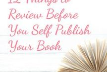 Producing High Quality Self-Published Books / A collection of the best tips and resources for creating high quality self-published books.