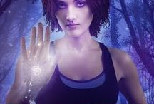 Imprint Series (Paranormal Suspense) / This is my romantic paranormal suspense series featuring antiques shop owner Autumn Rain. Autumn has the ability to read imprints, so things get interesting fast!