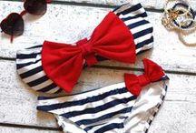 swim suits  / by Emily Pillard