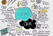 "Okay? Okay. / ""Maybe okay will be our always"" ~ Augustus water  / by Mallory Birch"
