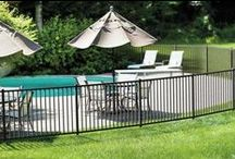 ActiveYards Pool Fencing / Pools are for relaxation, not worry. ActiveYards fencing systems meet the most stringent pool safety codes. We want to keep you and your family safe and still stylish. Pool safety is a must, and safety can be synonymous with style when it comes to ActiveYards' pool code approved fences.