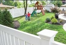 ActiveYards Decorative Fencing / The perfect fence does more than protect – it enhances too. ActiveYards' wide selection of styles and colors increase curb appeal and add years of value to your home. With ActiveYards' wide selection of colors and styles to choose from, you can create a look that is distinctly yours.