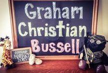 Baby Graham Bussell Shower / Baby Shower / by Ellise Hayden