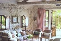 French Interiors and Exteriors / Inspiring and elegant French decorating and interiors.