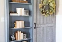Farmhouse Style / All things farmhouse inspired including shiplap, barnwood tables, open concept rooms, beamed ceilings and more! Farmhouse is a timeless style with lots of bright white and it's on trend with the popular HGTV show FIxer Upper from Chip and Joanna Gaines leading the way.