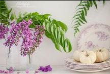 Love Of Lavender / Lavender seems to be the new blush in interior design and floral arranging. If you love pastels they are hot and lavender  is always on trend in home and fashion!