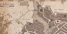 D&D City Maps