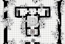 D&D Ruin Maps