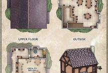 D&D Inn Maps