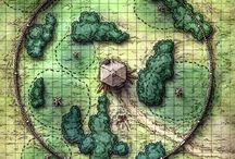 D&D Stronghold Maps