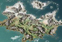 D&D Island Maps