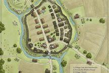 D&D Village and Town Maps