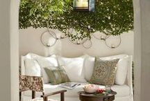 Outdoor Living / Home ideas for outdoor living. Patios and porches, pergolas and fire pits, water features, outdoor kitchens, swimming pools and hot tubs and more.