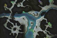 D&D Underdark Maps