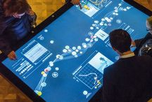 Museum interactive table
