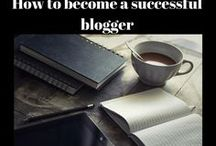 how to become a successful blogger / All different tips and advice on blogging. How to earn good money from blogging.