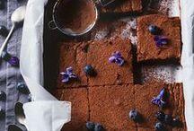 Blechkuchen & Brownies   Rezepte / Rezepte für schnellen Blechkuchen und schokoladige Brownies. Streusel inklusive!