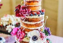 Hochzeitstorten   Rezepte & Inspiration / Hier findet ihr Torteninspirationen für den schönsten Tag im Leben. Torte, Backen, Kuchen, Hochzeit, Hochzeitstorte, Cake, Baking, Bakery, Wedding, Weddingcake, Party, Feier, Mehrstöckig, Naked Cake, Patisserie