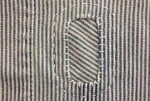 Mending & Stitching, Flicken & Sticken.