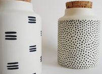 Ceramics / Beautiful and extraordinary ceramics for kitchen, dining table and living room and/or wishlist ♥